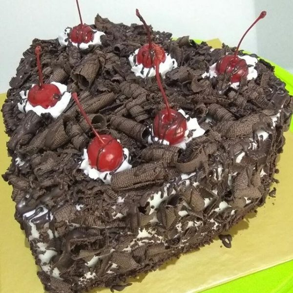 Black Forest Cherry Love Cake
